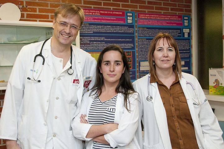 Pediatras del Hospital de Guadalajara presentan en Londres un estudio para prevenir la muerte súbita en jóvenes y niños
