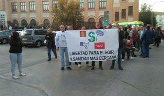 La Plataforma del convenio sanitario exige a Page ser atendido por los hospitales de Madrid y denuncian sufrir