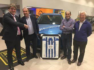 Cerrado el acuerdo de patrocinio entre ACAI Motor y el Hogar Alcarreño
