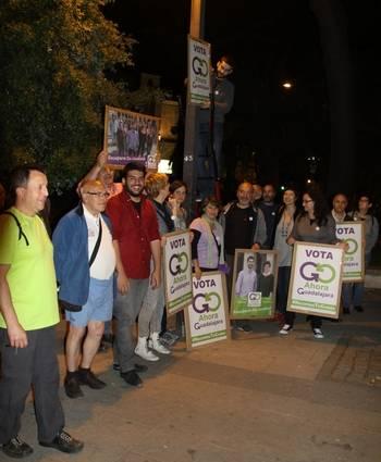 Ahora Guadalajara empieza a devolver el dinero aportado por los que colaboraron en su campaña electoral de 2015