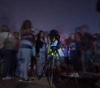 Este sábado se inician las observaciones astronómicas mensuales desde el bosque de Valdenazar