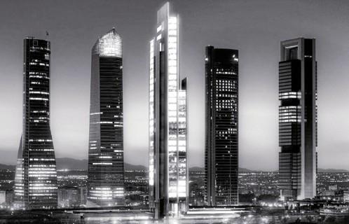 La quinta torre de Madrid se llamará Caleido, tendrá 70.000 m2 y generará 5.500 empleos
