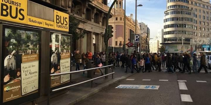 La Diputación de Guadalajara lleva el 'Viaje a la Alcarria' hasta la mismísima Gran Vía madrileña