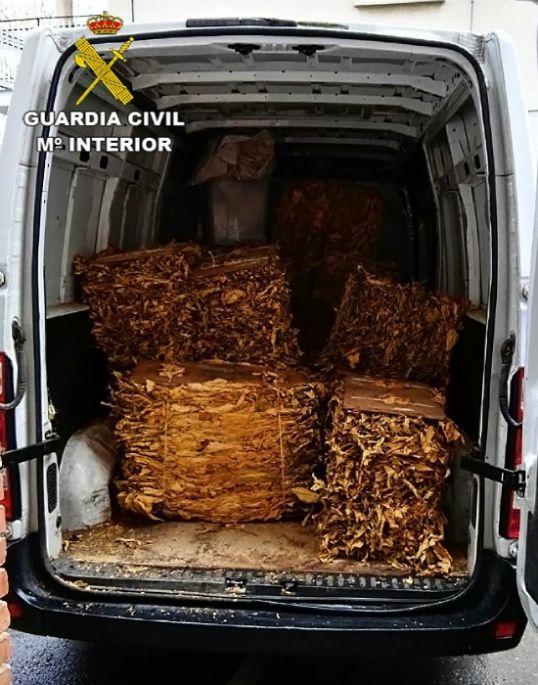 Desarticulada una red de tráfico de tabaco en Castilla-La Mancha