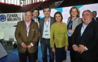 Antonio Román entra en la Ejecutiva Nacional del PP, Cospedal sigue como Secretaria General y Maíllo será el nuevo coordinador del partido