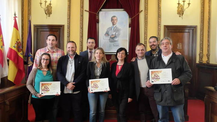 Este miércoles se han entregado en el Ayuntamiento de Guadalajara los premios de la XIV edición de la Ruta de la Tapa