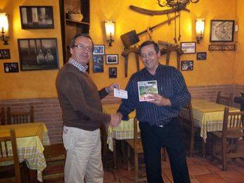 Apareció el ganador del premio del I Trofeo de Navidad de Fútbol del Hogar Alcarreño