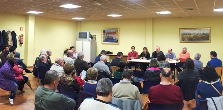 Alcaldes y concejales reclaman desde Yunquera que Page cumpla sus compromisos para su desarrollo agrícola e industrial