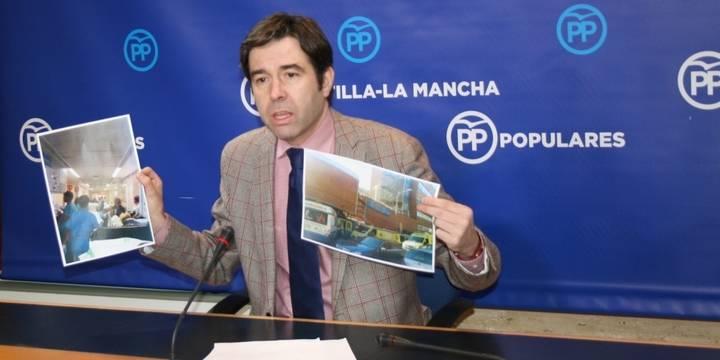 """Robisco pide medidas urgentes contra el """"caos sanitario"""" en toda Castilla-La Mancha"""