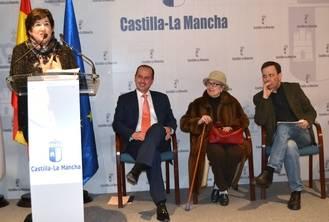 La sala de exposiciones de la Delegación de la Junta en Guadalajara es desde este jueves la Sala de Arte Antonio Buero Vallejo