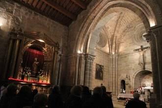 La llama de San Vicente ilumina el corazón de la ciudad de Sigüenza