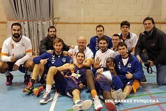 El JUPER Basket Yunquera sigue invicto y consolida el liderato venciendo al segundo clasificado