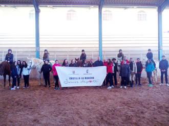 La hípica marca el arranque de la nueva actividad para jóvenes de entre 16 y 18 años del programa 'Somos Deporte'