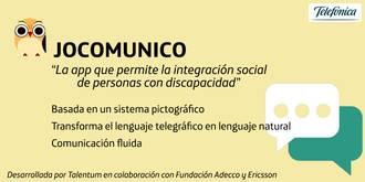 Telefónica presenta Jocomunico, una app para la integración social de personas con discapacidad