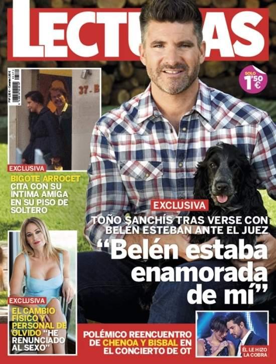 """Toño Sanchís: """"Belén Esteban estaba enamorada de mí y tenía celos de mi mujer"""""""