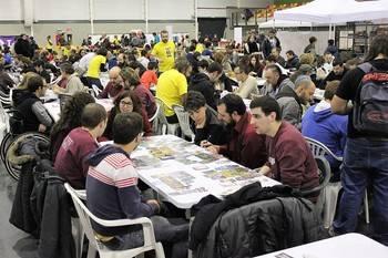 Más gente que nunca en 'The Big Game' celebrado en Yebes
