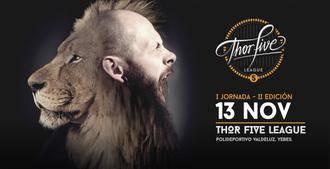 El polideportivo de Valdeluz acoge este domingo la primera jornada de la Thor Five League de CrossFit