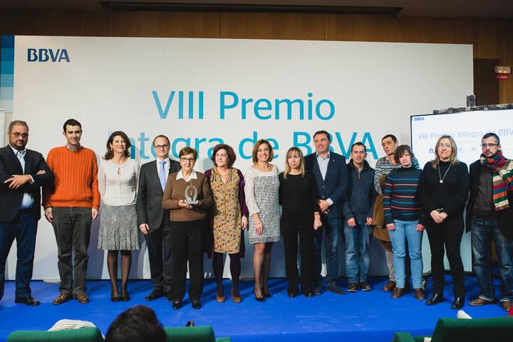AFAUS Pro Salud Mental recibe el galardón como finalista del VIII Premio Integra de BBVA