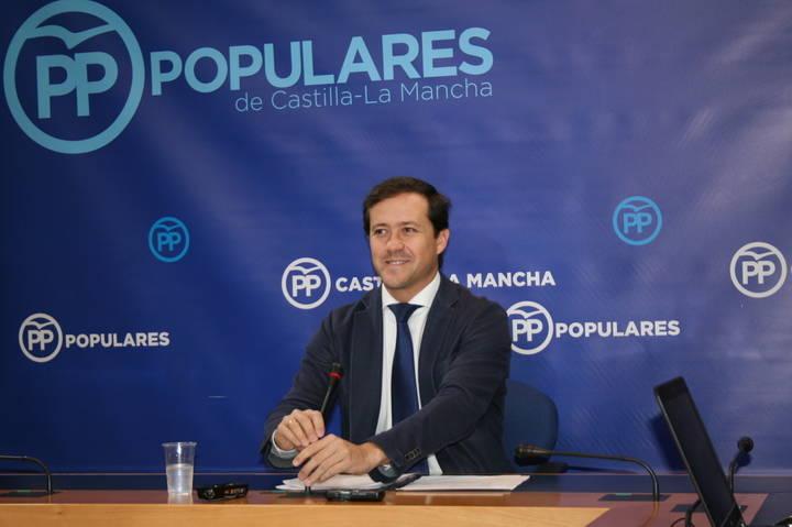 """Velázquez: """"Page habla del Estatuto de Autonomía y de la ley electoral para intentar desviar la atención del caos sanitario"""""""