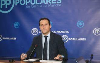 """Velázquez: """"Page quiere cuadrar el déficit a costa de la salud de los castellano-manchegos"""""""