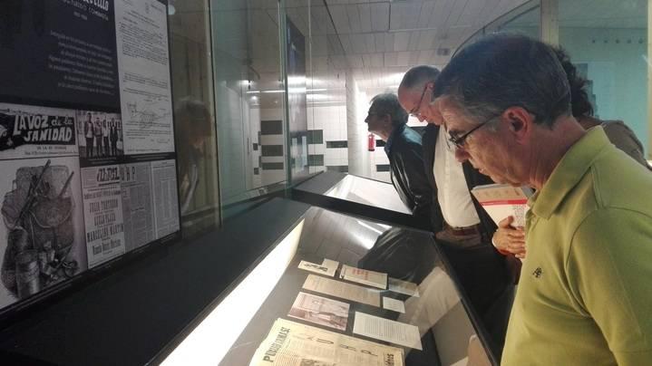 """La exposición """"Buero, Guadalajara siempre al fondo"""" llega a la sala de arte de la Delegación de la Junta"""
