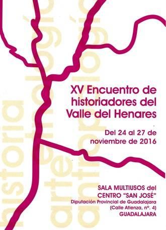 Este jueves comienza en Guadalajara el XV Encuentro de Historiadores del Valle del Henares