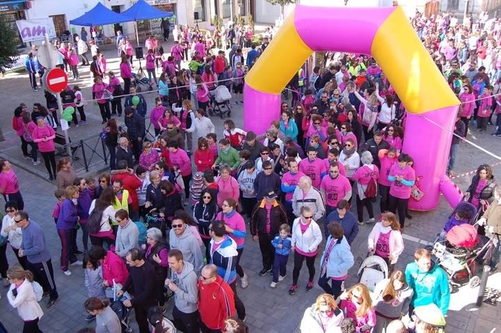 """Yunquera de Henares celebrará el día de la mujer con la """"4ª Marcha de la Mujer"""" en apoyo a la lucha contra el cáncer"""