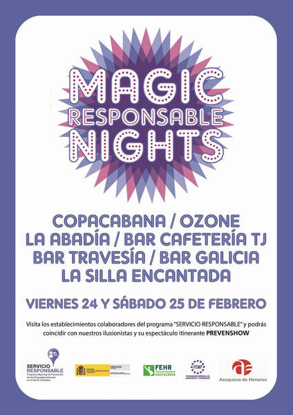 'Magic Responsable Nights': Así quieren prevenir la drogodependencia en Azuqueca