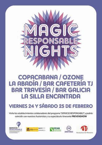 'Magic Responsable Nights': Así quieren prevenir la drogodependencia en Azuqueca