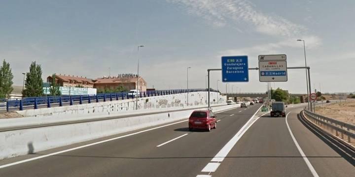Muere una mujer en un accidente con cuatro vehículos implicados en Guadalajara