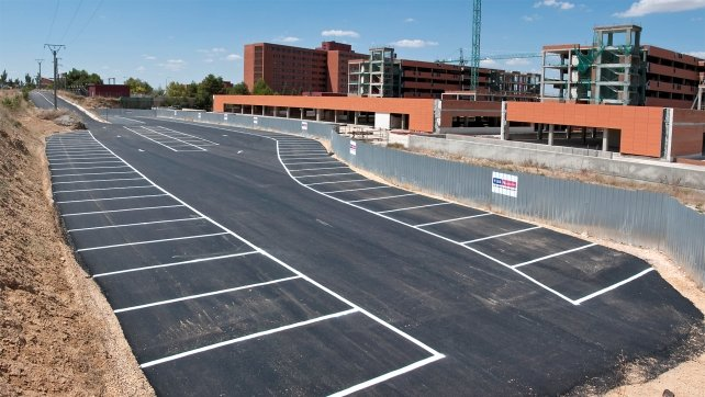 El Sescam amplía hasta el 6 de marzo el plazo para la presentación de ofertas para las obras del aparcamiento del Hospital de Guadalajara