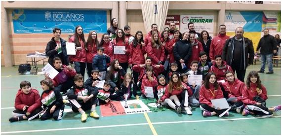 Los taekwondistas de Cabanillas arrasan en el Campeonato Regional