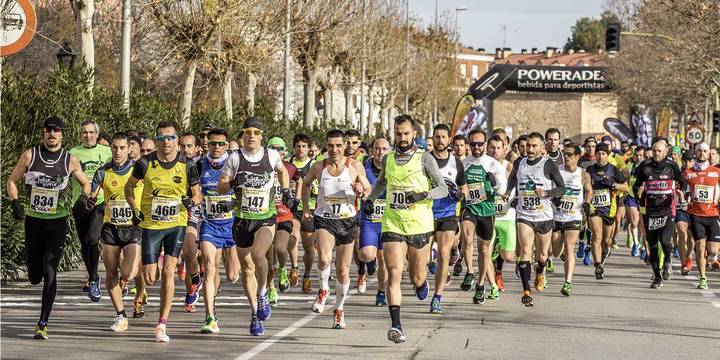 La XIX Carrera Popular de Alovera, éxito de participación y organización