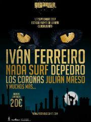Iván Ferreiro y Julián Maeso, artistas confirmados para el Festival Gigante