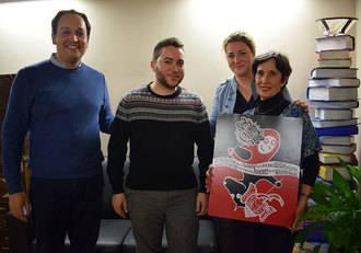 El Maratón de los Cuentos sobre Oriente ya tiene cartel, diseñado por Camila Villanueva Krzyzaniak