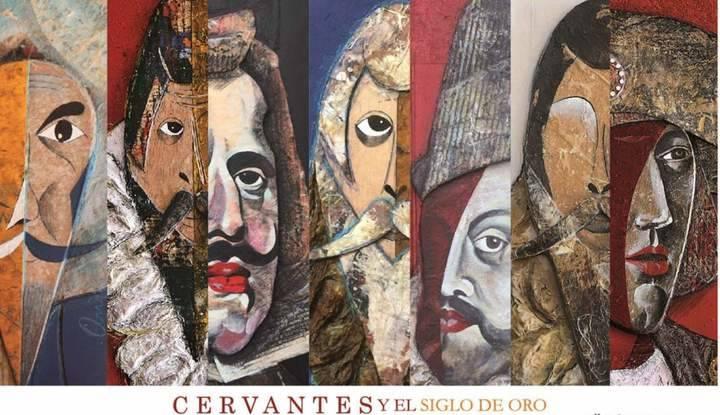 """""""Cervantes y el siglo de Oro"""" llegan al Museo provincial a través de la obra del artista plástico Alberto Romero"""