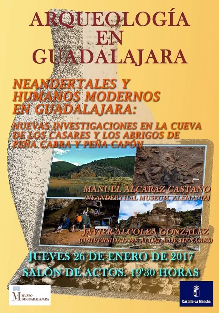 Expertos en prehistoria informarán sobre nuevas investigaciones en la Cueva de los Casares y los abrigos de Peña Cabra y Peña Capón