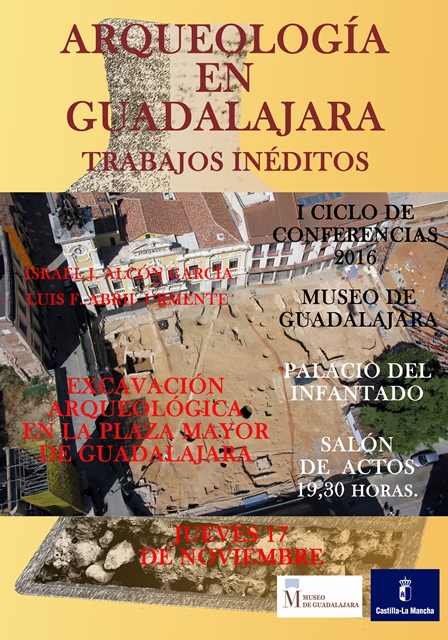 Conferencia sobre los trabajos arqueológicos en la plaza Mayor de Guadalajara