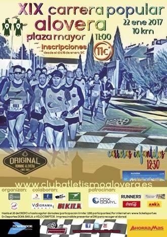 El Club Atletismo Alovera organiza su XIX Carrera Popular