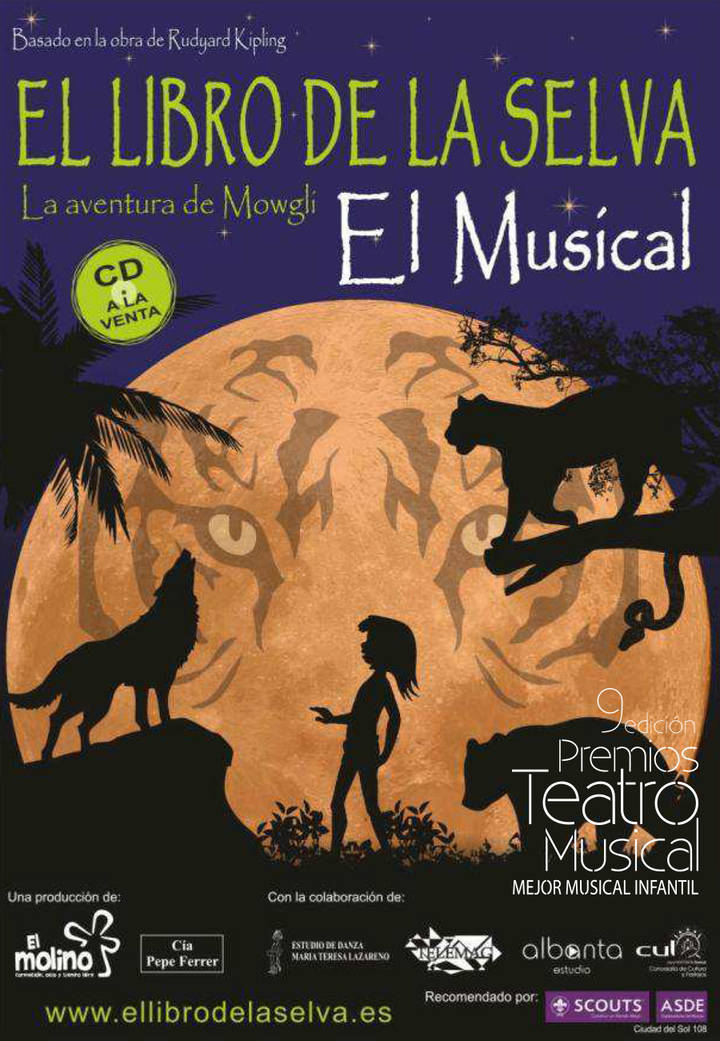 El musical de 'El libro de la selva' y el Concierto de Año Nuevo, esta semana en el TABV