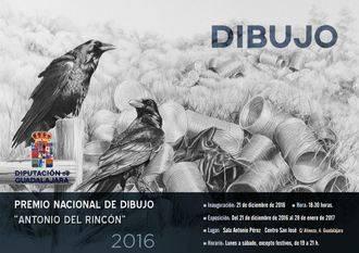 Este miércoles se inaugura la exposición con los premios de Dibujo y Fotografía 2016 de la Diputación de Guadalajara