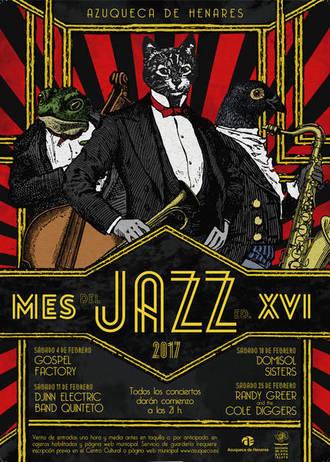 Ya están a la venta las entradas del XVI Mes del Jazz de Azuqueca
