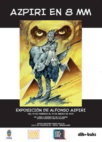 Exposición de Azpiri, hasta el 10 de marzo en el Buero Vallejo