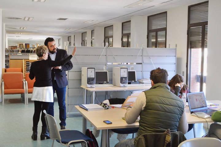 Concluyen los trabajos de insonorización de la sala de estudio de la Biblioteca de Azuqueca