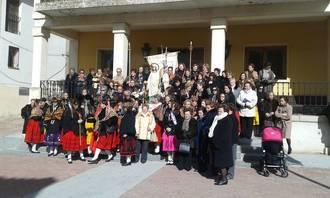 Las mujeres de Santa Águeda mandan en Jadraque este fin de semana