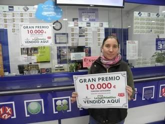 Un afortunado azudense se lleva 10.000 euros gracias al Joker de La Primitiva
