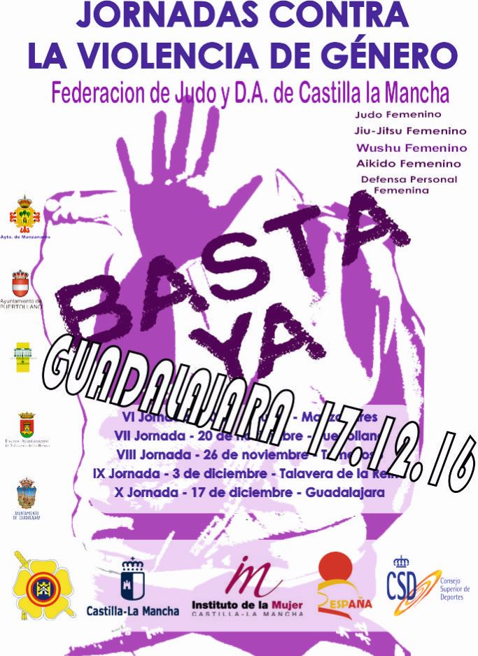 Llega a Guadalajara la Jornada deportiva y de sensibilización contra la violencia de género