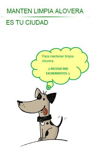 Alovera inicia una campaña para el control y la vigilancia de los animales en la vía pública