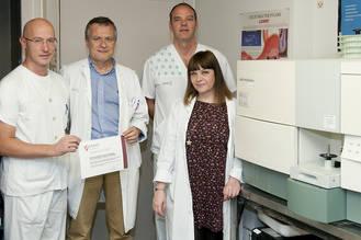 Un proyecto sobre hepatitis B realizado por investigadores del Hospital de Guadalajara logra una importante beca de investigación