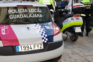 Detenidas dos personas en Guadalajara por resistencia grave a la autoridad